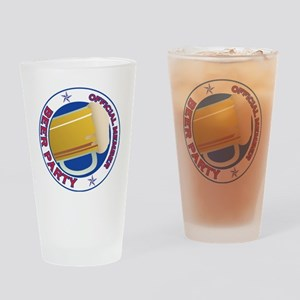 Beer Party Drinking Glass