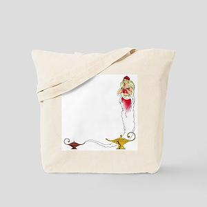 Genie on a  Tote Bag