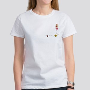 Genie on a Women's T-Shirt