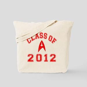 CO2012 Trekkies Red Distressed Tote Bag