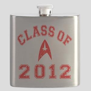 CO2012 Trekkies Red Distressed Flask
