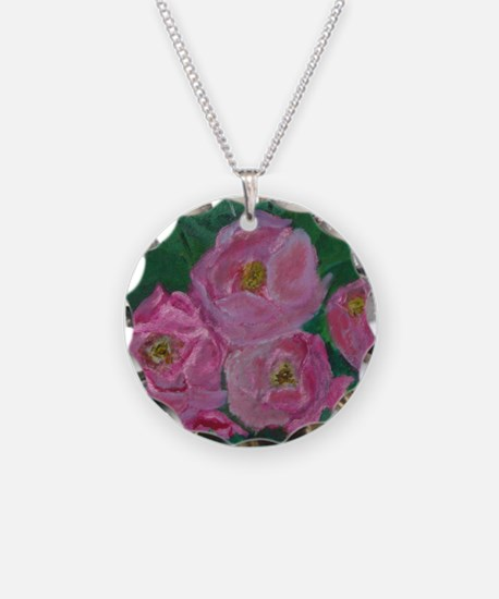 Pink Bouquet Necklace