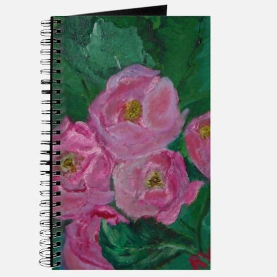 Pink Bouquet Journal