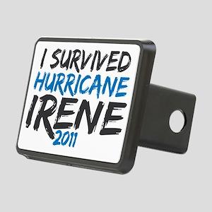 hurricane irene Rectangular Hitch Cover