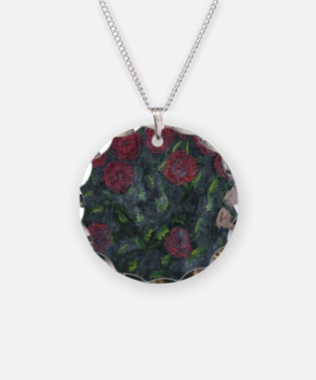 Autumn Roses Necklace