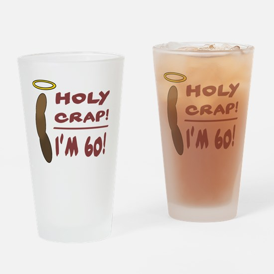 HolyCrap60 Drinking Glass