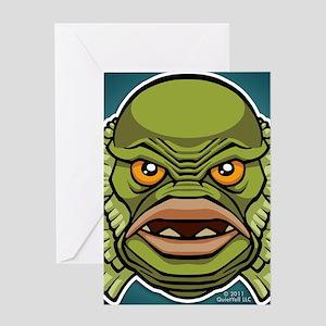 18x13-6_creature_img_bg01 Greeting Card