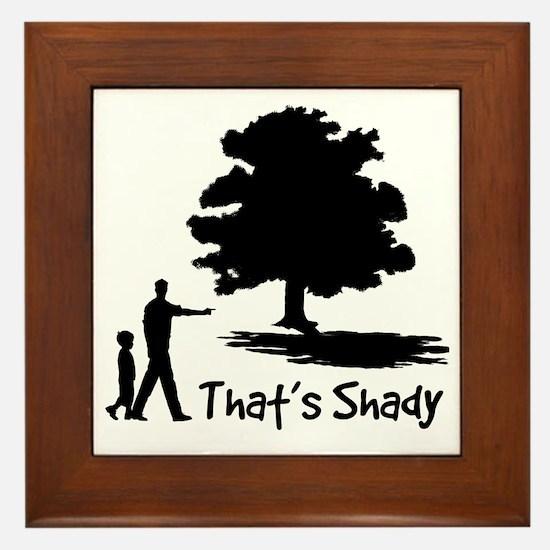 SHADY Framed Tile