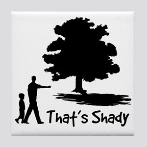 SHADY Tile Coaster