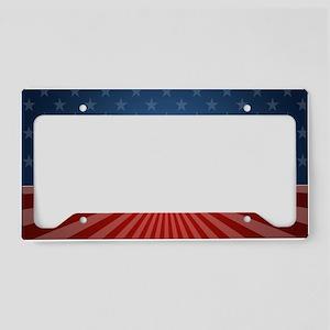 5x3 Romney Stars Stripes License Plate Holder