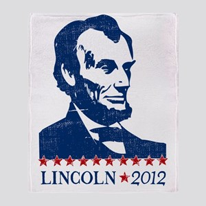Lincoln 2012 Throw Blanket