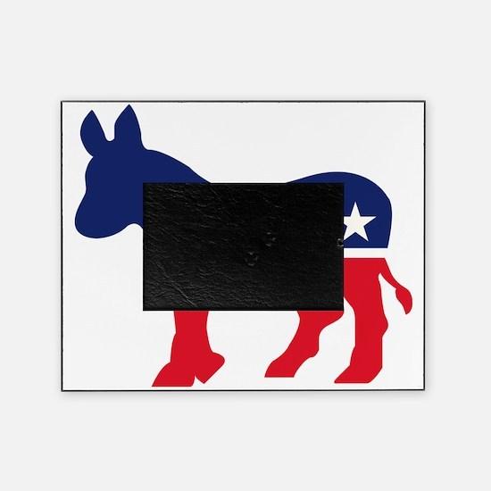 Democrat Donkey Picture Frame