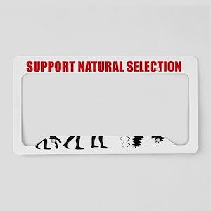 Natural Selection V2 License Plate Holder