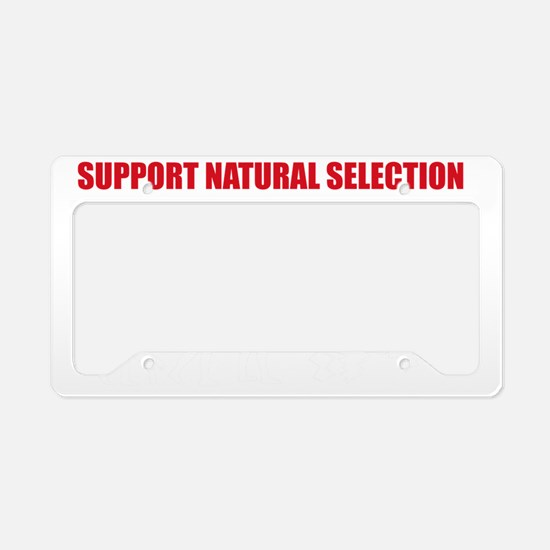Natural Selection V22 License Plate Holder