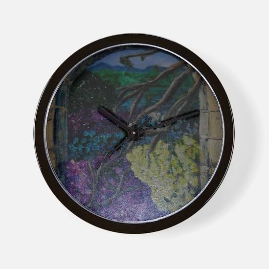 Royal Garden Wall Clock