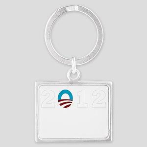 2012 Obama dk Landscape Keychain