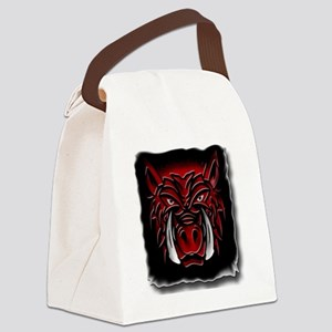 New Face copy Canvas Lunch Bag