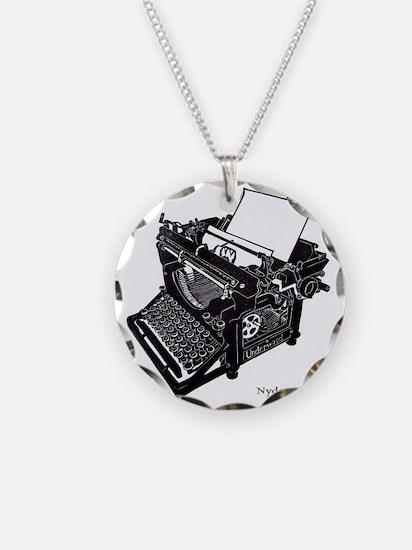 Antique typewriter Necklace