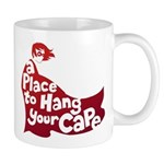 A Place To Hang Your Cape Mugs