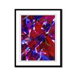 Dance of Life Abstract Framed Panel Print