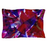 Dance of Life Abstract Pillow Case