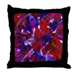 Dance of Life Abstract Throw Pillow
