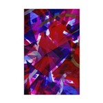 Dance of Life Abstract Mini Poster Print