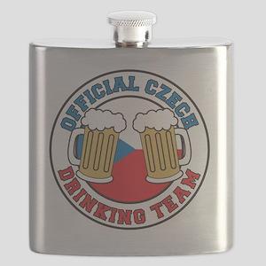 Official Czech Drinking Team Pint Flask