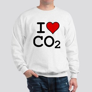 CO2_big_blk Sweatshirt