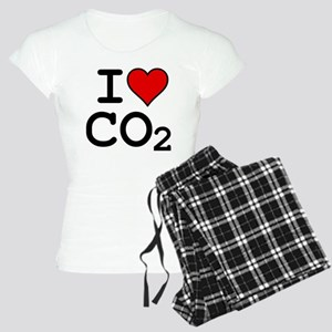 CO2_big_blk Women's Light Pajamas