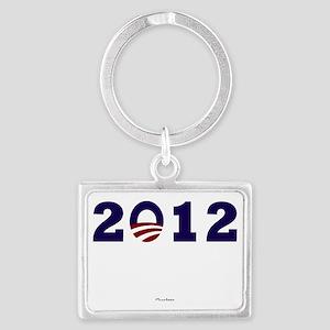 2012 Obama Landscape Keychain