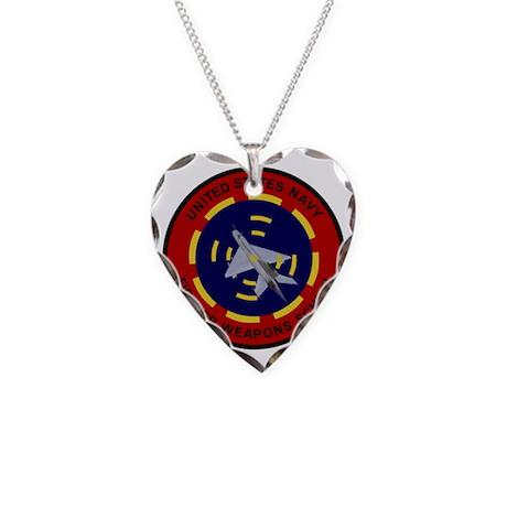 USNFWS Necklace Heart Charm