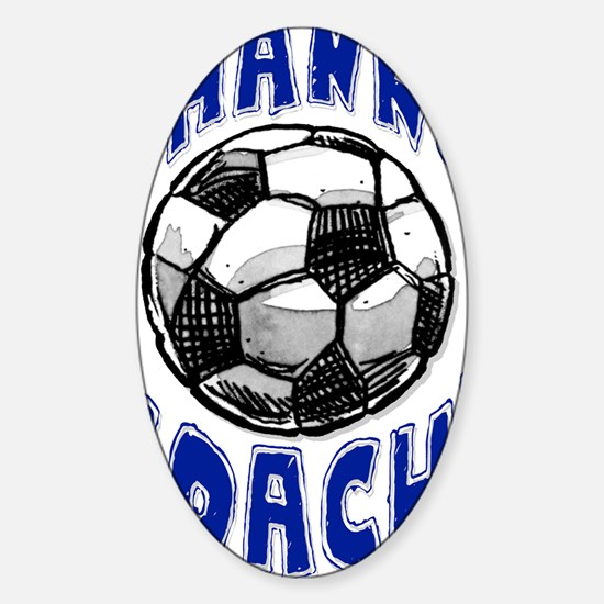 ThxSoccerCoach Sticker (Oval)