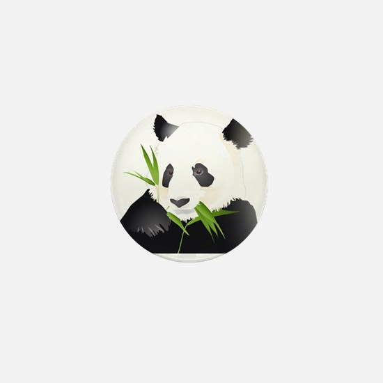 Panda Bear Mini Button