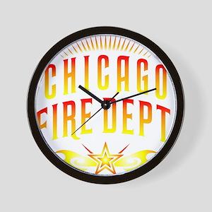 CPChicagoFire Wall Clock