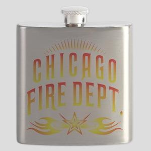 CPChicagoFire Flask