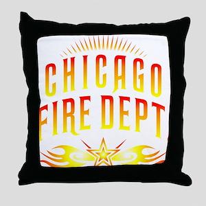 CPChicagoFire Throw Pillow