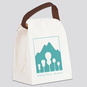 mountain music transparent Canvas Lunch Bag