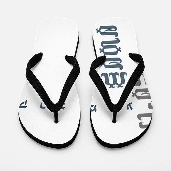 KMGirl copy Flip Flops