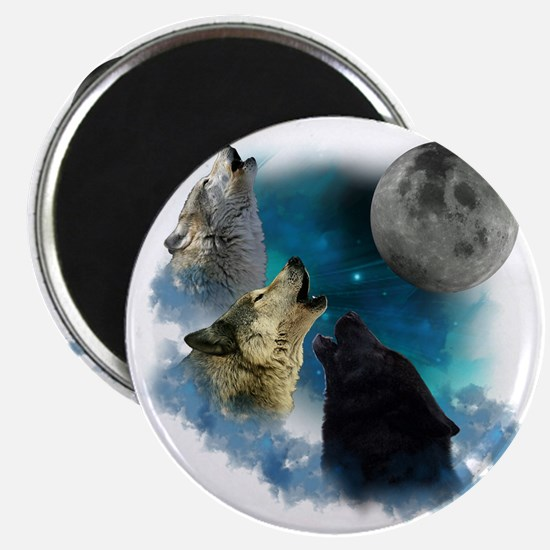 New Wolfs moon 2 Magnet