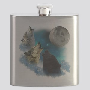 New Wolfs moon 2 Flask