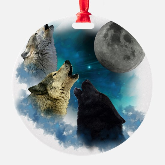 New Wolfs moon 2 Ornament