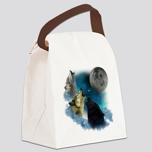 New Wolfs moon 2 Canvas Lunch Bag
