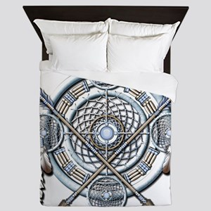 Winter Blue Dreamcatcher Queen Duvet