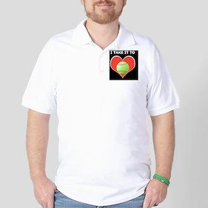 Softball iPhone 4 Slider Case, Take It  Golf Shirt