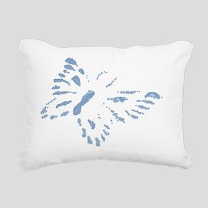 periwinklepapillion_butt Rectangular Canvas Pillow
