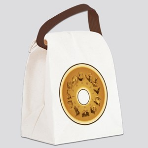 12 Guardian Animals Canvas Lunch Bag