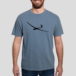 black glider logo sailplane T-Shirt