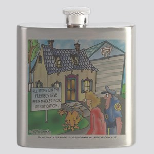3490_cat_cartoon Flask