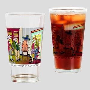 5682_history_cartoon Drinking Glass